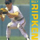 1992 Fleer 25 Billy Ripken