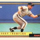 1992 Topps 475 Robby Thompson