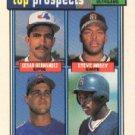 1992 Topps 618 Cesar Hernandez/Steve Hosey/Jeff McNeely