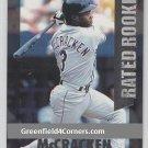 1997 Donruss Rated Rookies #8 Quinton McCracken