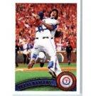 2011 Topps #543 Texas Rangers TC