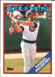 1988 Topps 186 Rafael Palmeiro