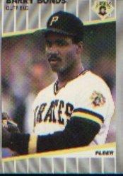 1989 Fleer #202 Barry Bonds
