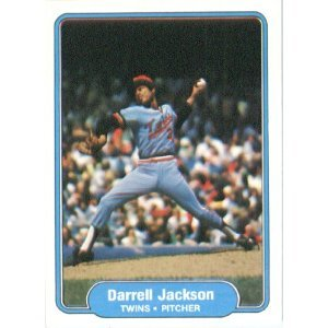 1982 Fleer 555B Darrell Jackson/(Red cap with T)