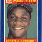 1987 Burger King All-Pro #19 Darryl Strawberry