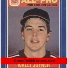 1987 Burger King All-Pro #11 Wally Joyner