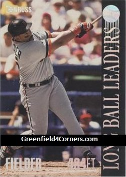 1994 Donruss Long Ball Leaders #1 Cecil Fielder