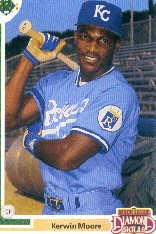 1991 Upper Deck Final Edition #19F Kerwin Moore RC