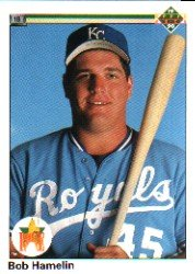 1990 Upper Deck 45 Bob Hamelin RC