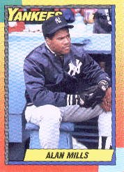 1990 Topps Traded 75T Alan Mills RC