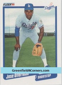 1990 Fleer Update #24 Jose Offerman RC