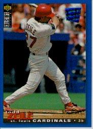 1995 Collector's Choice SE #74 Todd Zeile