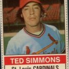 1976 Hostess #113 Ted Simmons