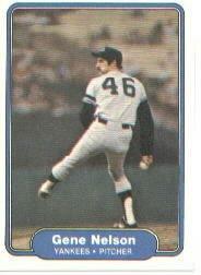 1982 Fleer 45 Gene Nelson RC