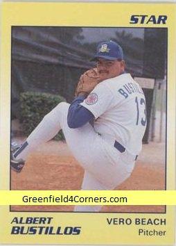 1989 Star #28 Albert Bustillos