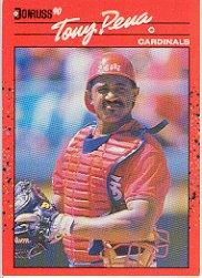 1990 Donruss 181 Tony Pena