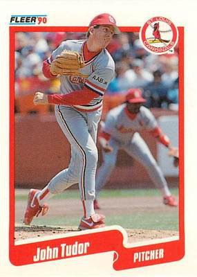 1990 Fleer Update #54 John Tudor
