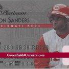 1995 Studio Platinum Series #20 Deion Sanders