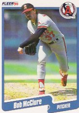 1990 Fleer 139 Bob McClure