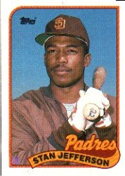 1989 Topps 689B Stan Jefferson/(Violet triangle on/front bottom left)