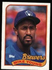 1989 Topps 731 Mike Young