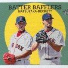 2008 Topps Heritage #346 Daisuke Matsuzaka/Josh Beckett