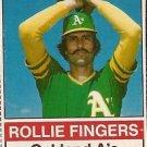 1976 Hostess #104 Rollie Fingers