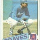 1985 Topps #51 Bob Watson