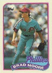 1989 Topps 202 Brad Moore