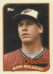 1989 Topps 324 Bob Milacki
