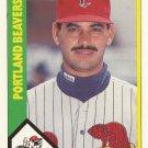 1990 CMC Portland Beavers #8 Francisco Oliveras