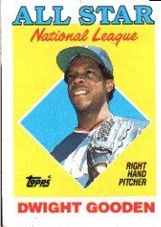 1988 Topps 405 Dwight Gooden AS
