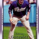 2007 Upper Deck 497 Adrian Gonzalez CL