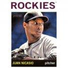 2013 Topps Heritage #251 Juan Nicasio
