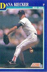 1991 Score 77 Dana Kiecker