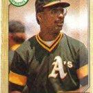 1987 Topps 83 Mike Davis