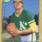 1987 Topps 391 Jay Howell