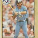 1987 Topps #395 Damaso Garcia