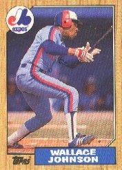 1987 Topps 588 Wallace Johnson