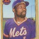 1987 Topps 625 Mookie Wilson