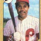1987 Topps 755 Luis Aguayo