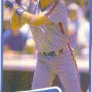 1990 Fleer 209 Barry Lyons UER/(Double line of/'87 stats)