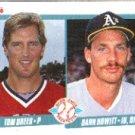 1990 Fleer 644 Tom Drees RC/Dann Howitt RC