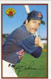 1989 Bowman #159 Wally Backman