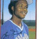 1989 Bowman #254 Tony Fernandez