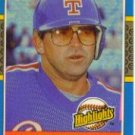1987 Donruss Highlights #10 Larry Parrish