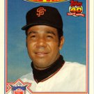 1991 Topps Glossy All-Stars #22 Juan Marichal CAPT