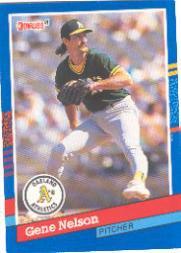 1991 Donruss #385 Gene Nelson