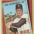 1987 Topps #314 Carl Yastrzemski TBC