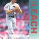 1992 Fleer 208 Terry Leach